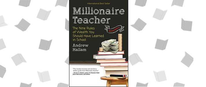 Couverture du livre de l'enseignant millionnaire