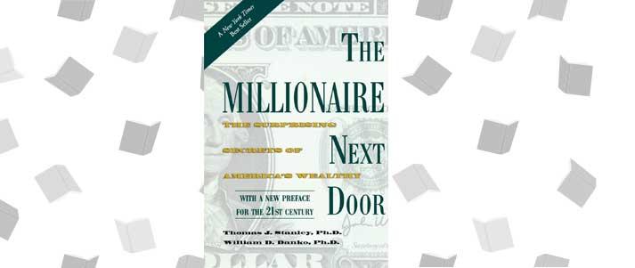 la couverture du livre millionnaire à côté