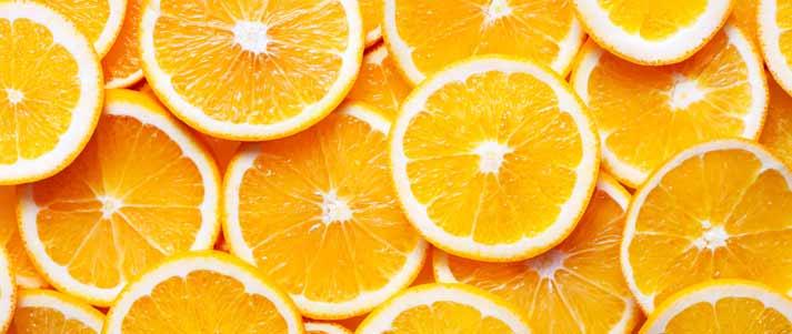 tranches d'orange