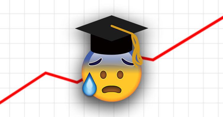 emoji diplômé avec graphique