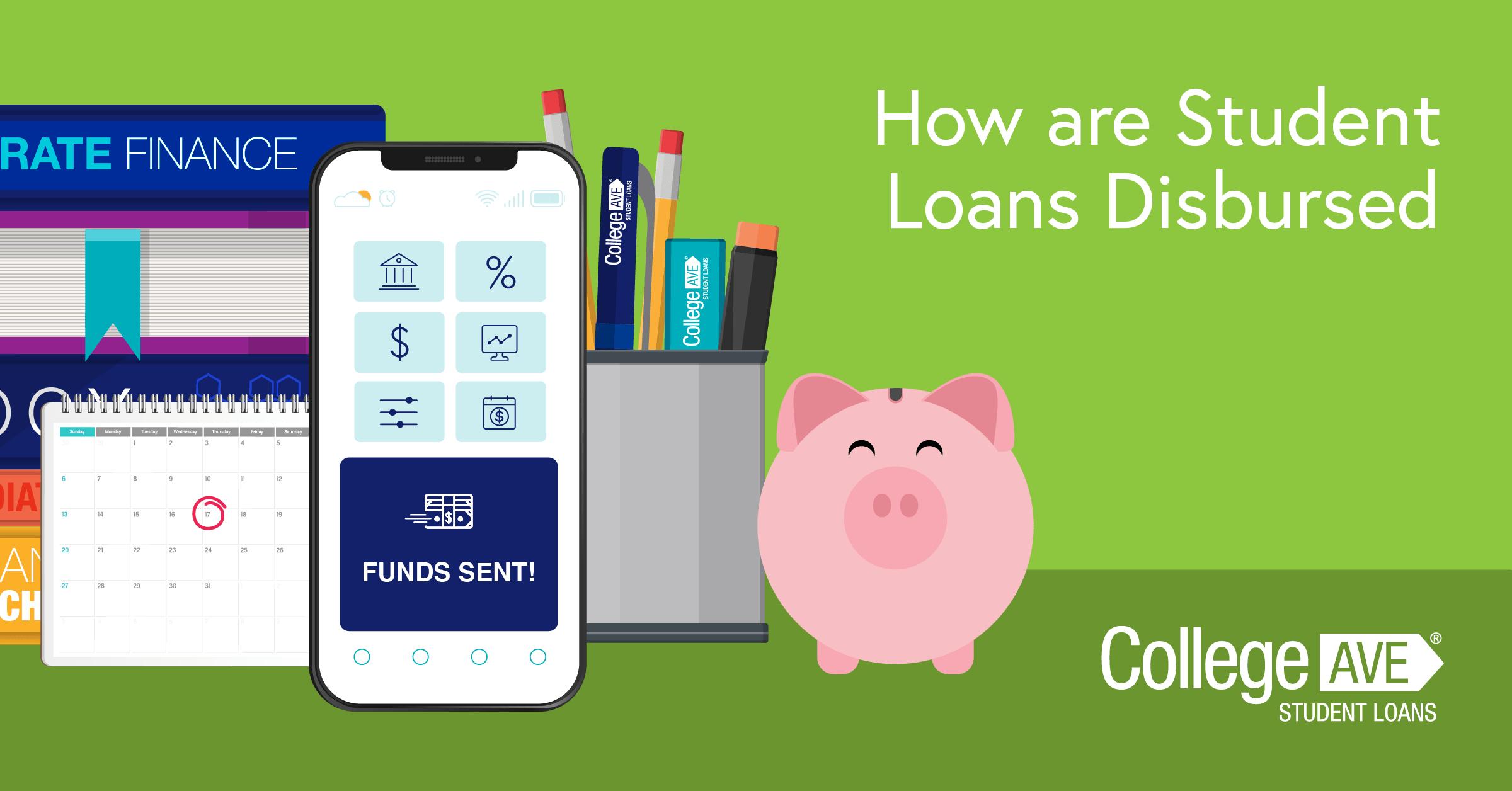Comment les prêts étudiants sont-ils décaissés?